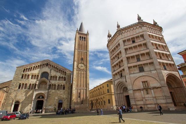 Catedral e Batistério de Parma