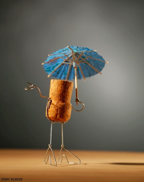 14-Umbrella-Girl-Terry-Border-Photographer-Bent-Objects-Sculptures-www-designstack-co