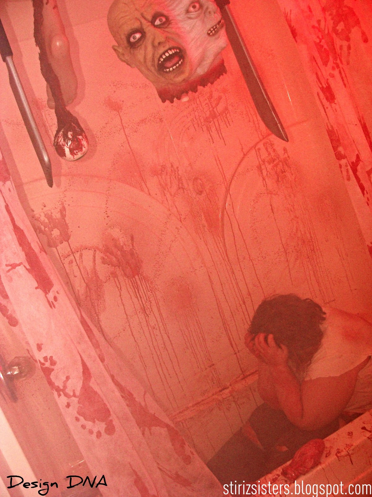 Design Dna Haunted House Rooms 4 Quot The Bloody Bathroom Quot