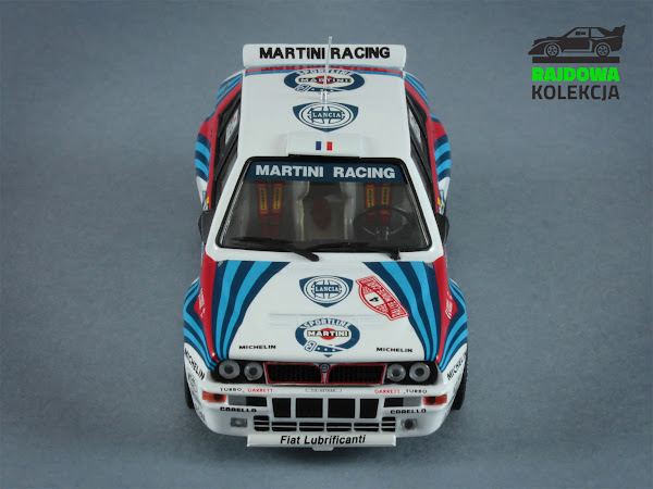 IXO SCR001 Lancia Delta HF Integrale Evoluzione Winner Rallye Monte Carlo 1992