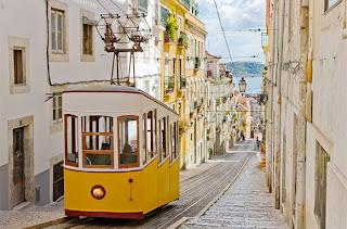 Fun Trams Rides Lisbon Portugal