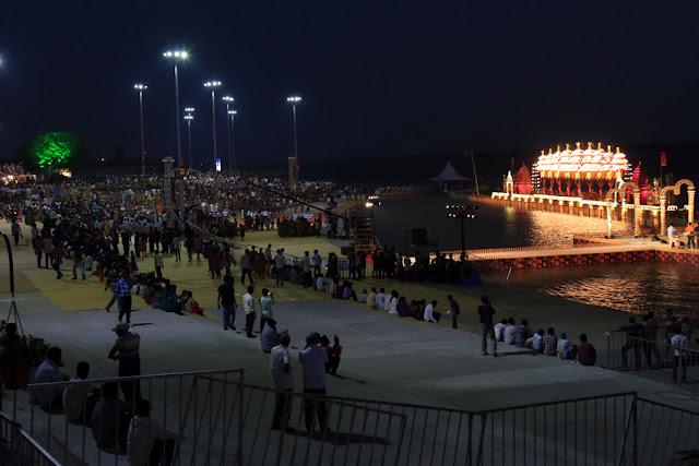 Pavitra Sangamam Aarti Ghat