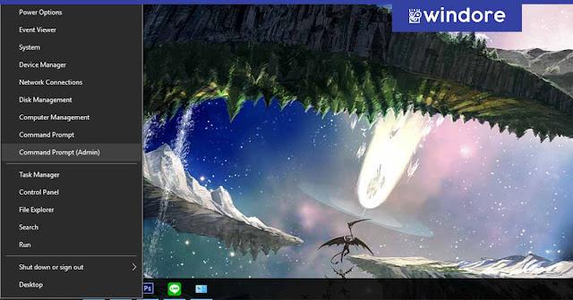 Mengatur Netsh dengan CMD di Windows