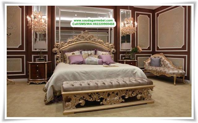 Kamar Set Mewah Klasik Eropa Terbaru Model Kursi Sofa