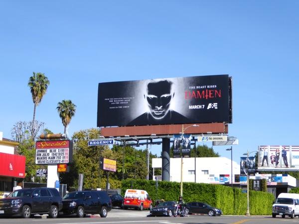 Damien The Omen TV series billboard