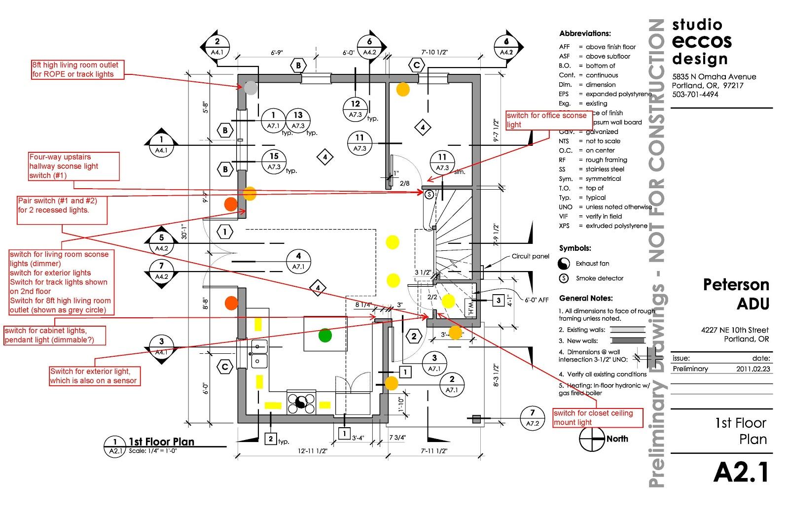 lighting plan for first floor [ 1600 x 1035 Pixel ]