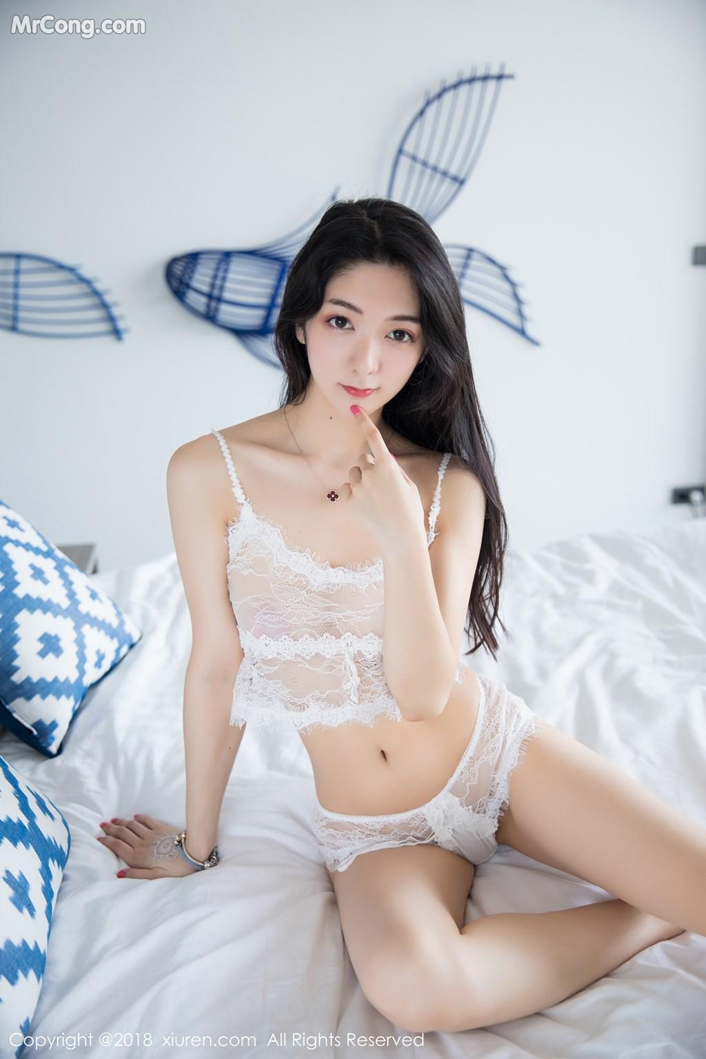 Image XIUREN-No.1205-Xiao-Reba-Angela-MrCong.com-008 in post XIUREN No.1205: Người mẫu Xiao Reba (Angela小热巴) (54 ảnh)