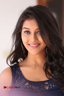 Pooja Jhaveri Stills in Short Dress at Dwaraka Movie Interview ~ Celebs Next