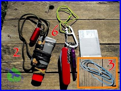 kit fond de poche, sak, couteau suisse, survie, bushcraft, bricoler, briquer, chambre à air, fil de cuivre