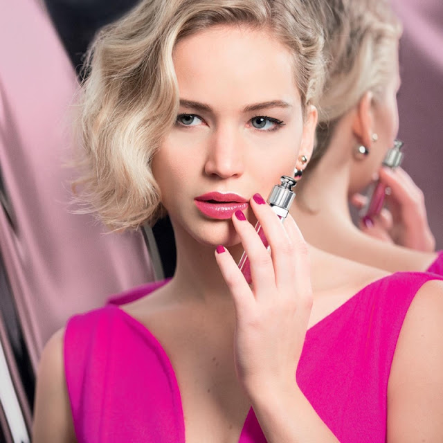 Jennifer Lawrence goes glossy for Dior Addict Campaign