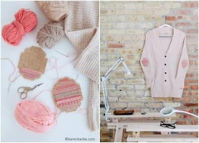 Cómo renovar las prendas con parches bordados en cartón