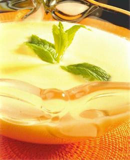 Thermomix receta: Natillas con sabor a menta