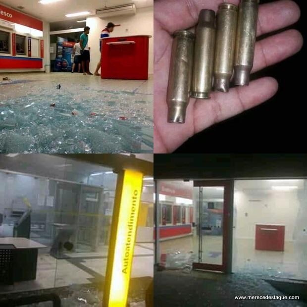Criminosos explodem quatro agências bancárias na cidade de Surubim, no Agreste de Pernambuco