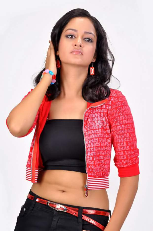 Actress Shanvi Navel Show Hot and Sexy HD Photos Wallpapers