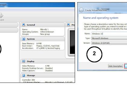 Cara Install Windows 10 di Virtualbox Menggunakan File ISO