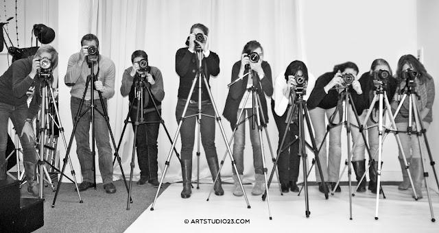 Fotografen Hans van Nunen en Melanie E. Rijkers begeleiden in techniek en compositieleer