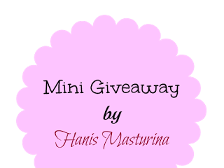 Mini Giveaway by Hanis Masturina