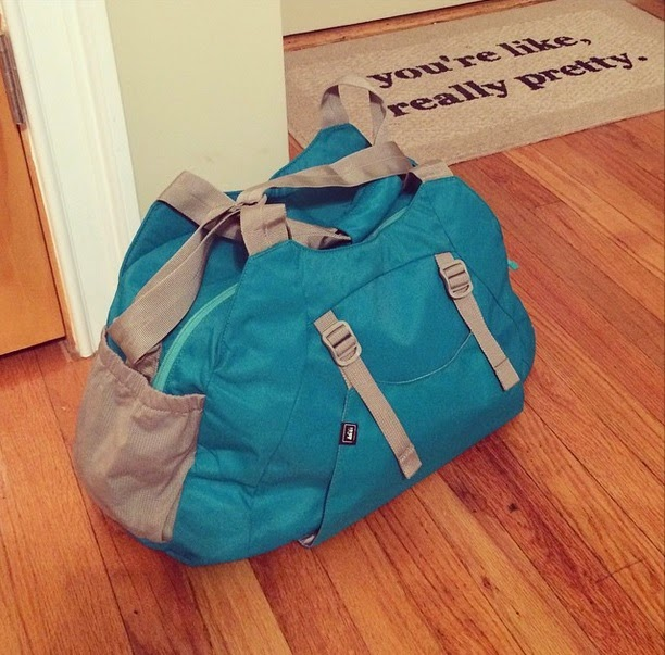 I got the REI Balance Bag from my parents for Christmas bb6edd6821953