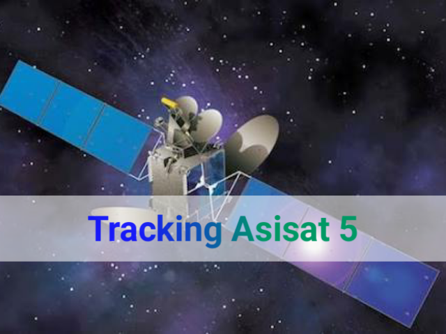 Cara Tracking Satellit Asiasat 5