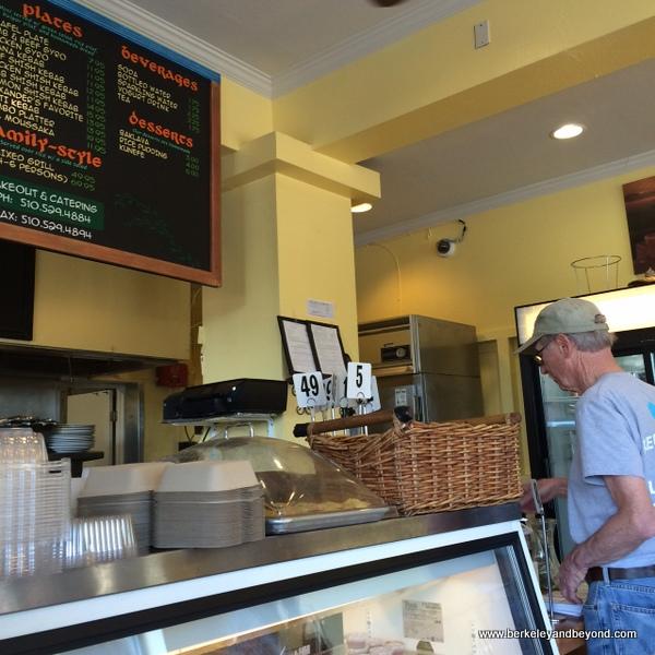 order counter at Kobani Mediterranean Grill in Berkeley, California