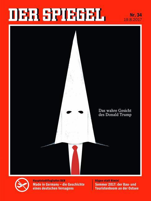 the randy report donald trump covers der spiegel