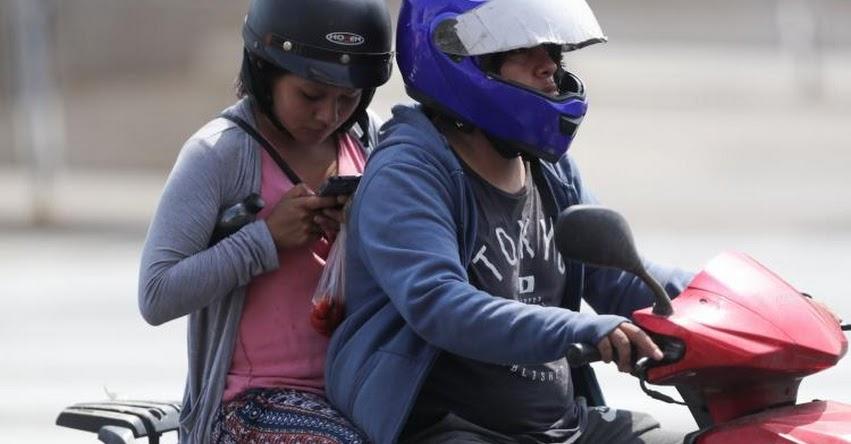 Miraflores aprueba proyecto que prohíbe circulación de motos con acompañante