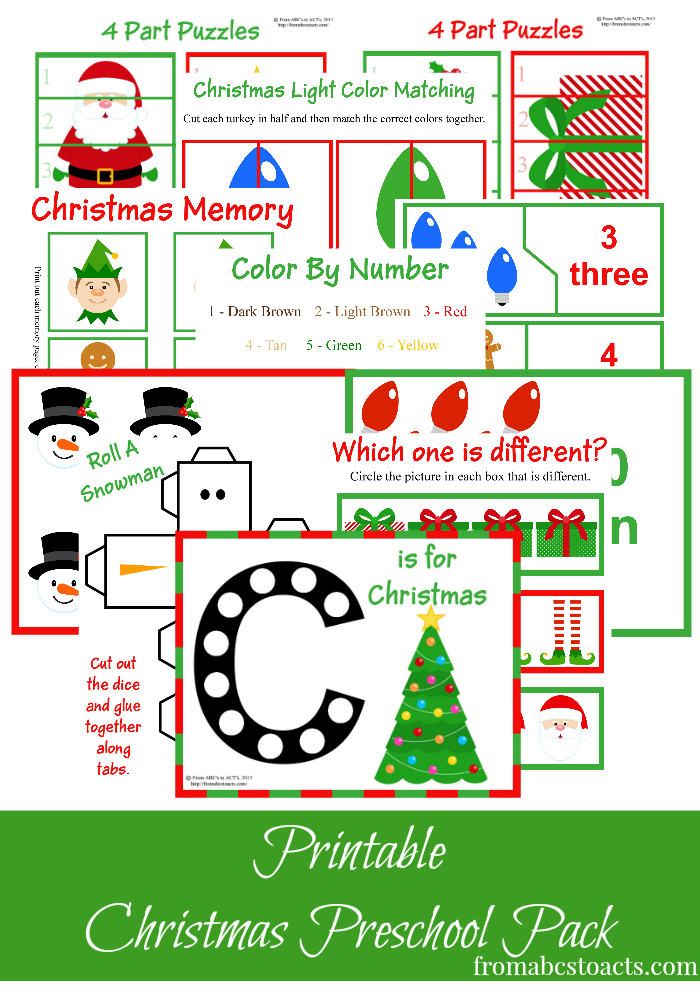 printable educational activities free christmas printables learning resources for 257