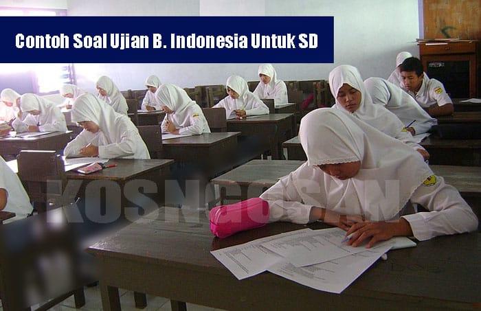 40 Contoh Soal dan Jawaban UN/USBN Bahasa Indonesia SD 2019