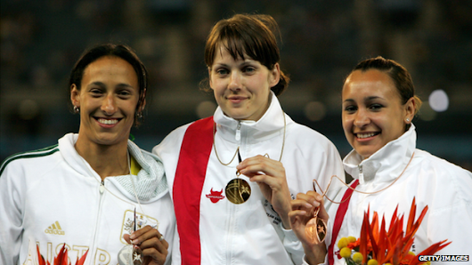 Kelly Sotherton's stolen Commonwealth Games gold medal found