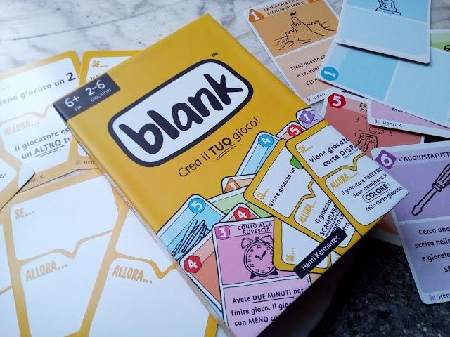 """""""Blank"""", il gioco di carte totalmente personalizzabile"""