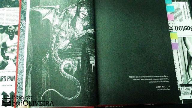 Ilustração Livro O Demonologista Andrew Pyper DarkSide Books Editora