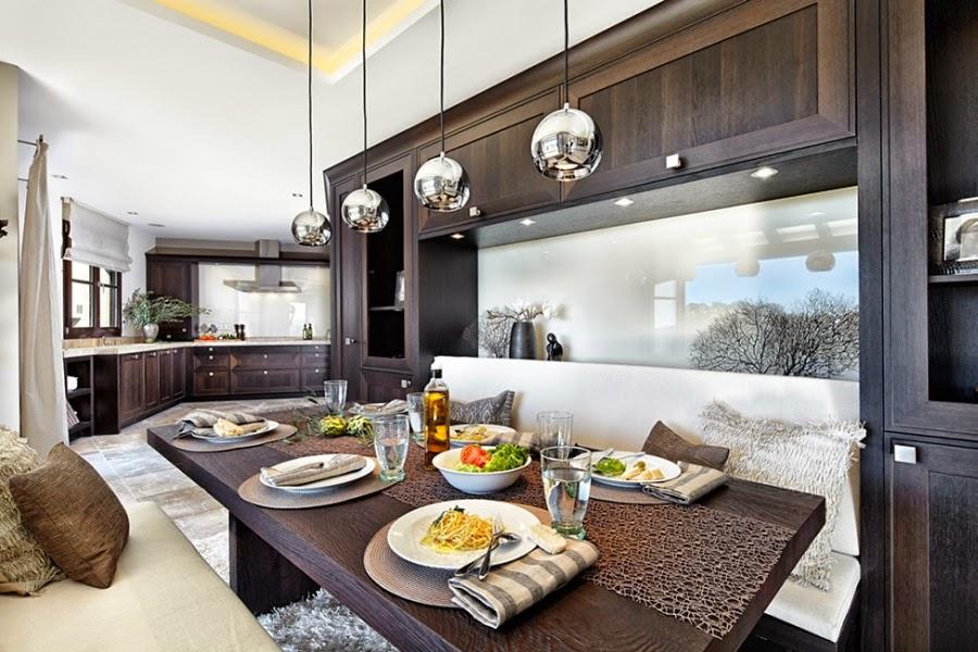 Nowoczesna willa na Majorce, wystrój wnętrz, wnętrza, urządzanie domu, dekoracje wnętrz, aranżacja wnętrz, inspiracje wnętrz,interior design , dom i wnętrze, aranżacja mieszkania, modne wnętrza, nowoczesna kuchnia, styl nowoczesny