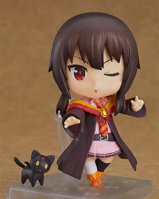 """Nendoroid Megumin: School Uniform Ver. de """"Konosuba"""" - Good Smile Company"""
