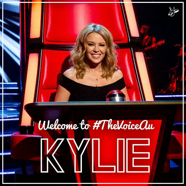 Kylie Minogue and Will I Am Join 'The Voice' Australia