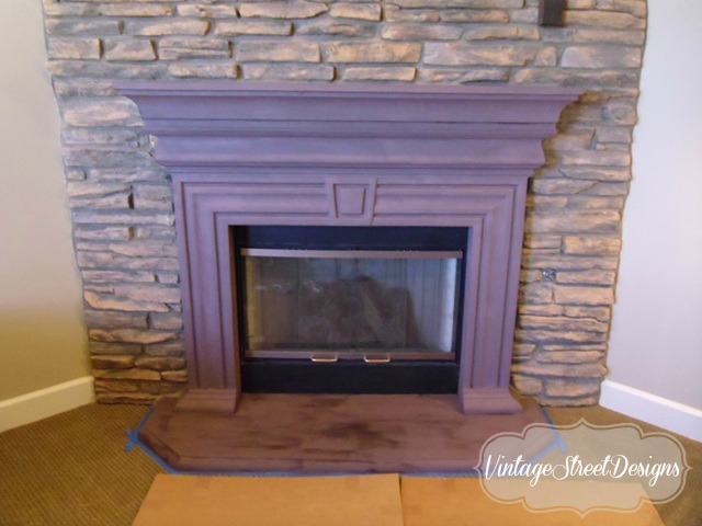 3 Fireplace Mantel Makeovers Using Chalk Paint Amp Wax