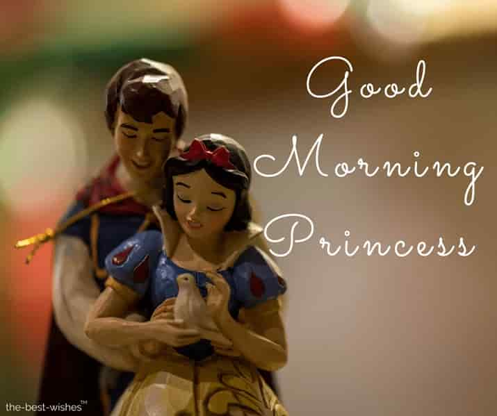 good morning princess