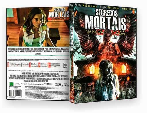 CAPA DVD – Segredos Mortal Na Nova Casa – ISO
