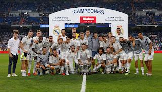 Cronica Real Madrid-Milan: Nos quedamos con el Trofeo Santiago Bernabeu