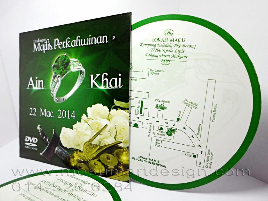 Design Kad Kahwin Murah Kreatif5