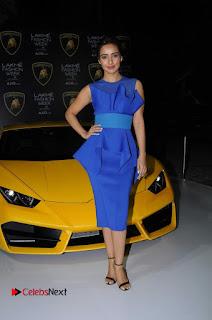 Actress Neha Sharma Latest Stills in Blue Dress at Lakme Fashion Week Summer Resort 2017  0010.jpg
