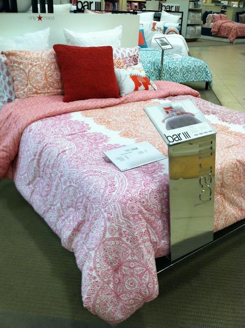 incredible hot pink orange bedroom | Lotus & Fig: Pink and Orange Bedding