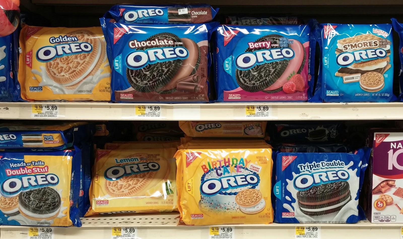 Double Stuff Oreo Calories