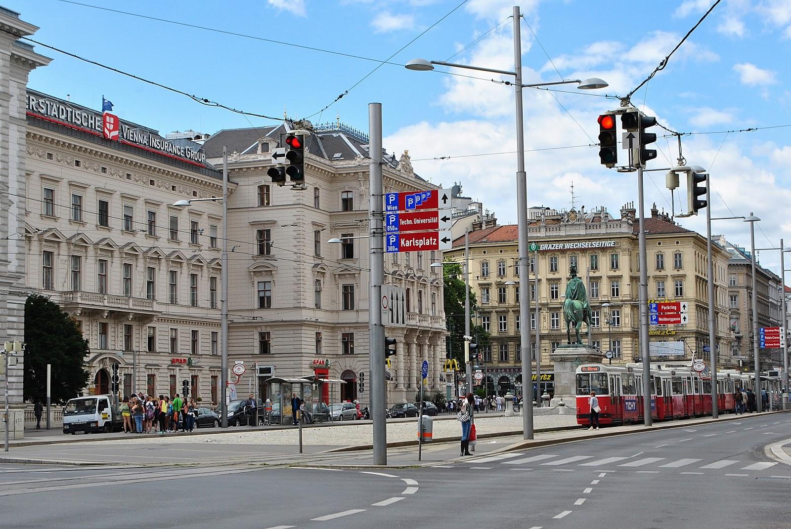 AUSTRIA - WIEDEŃ W MOIM OBIEKTYWIE