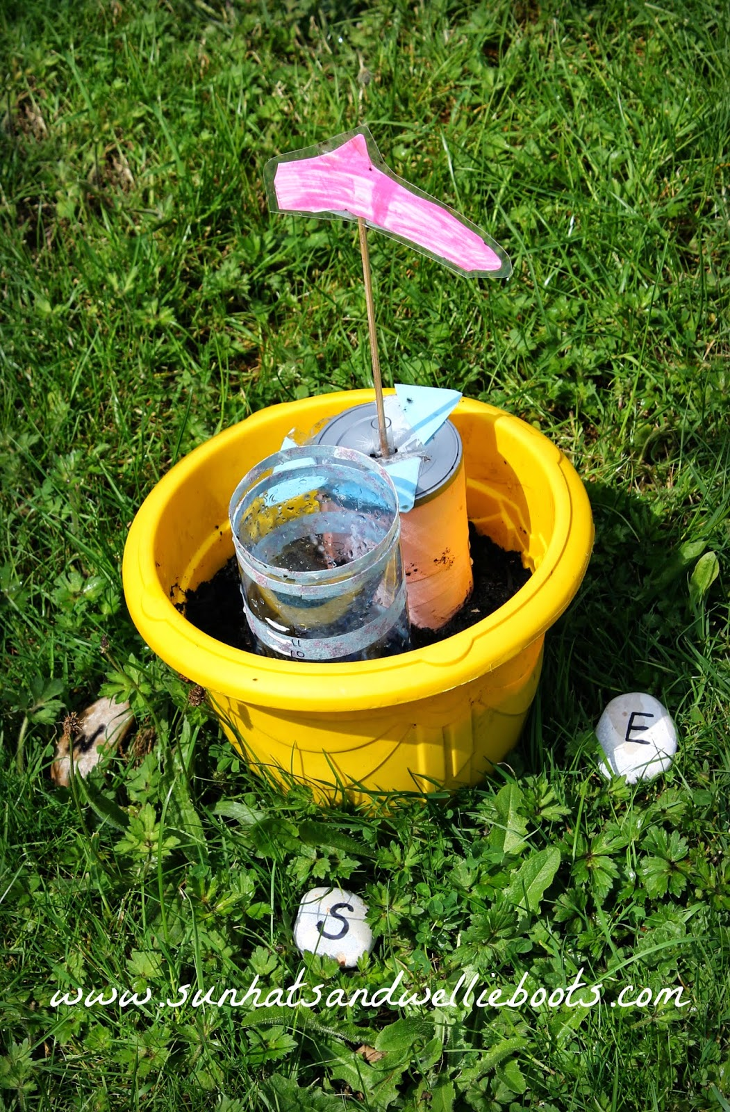 Sun Hats Amp Wellie Boots Diy Weather Station For Kids To Make