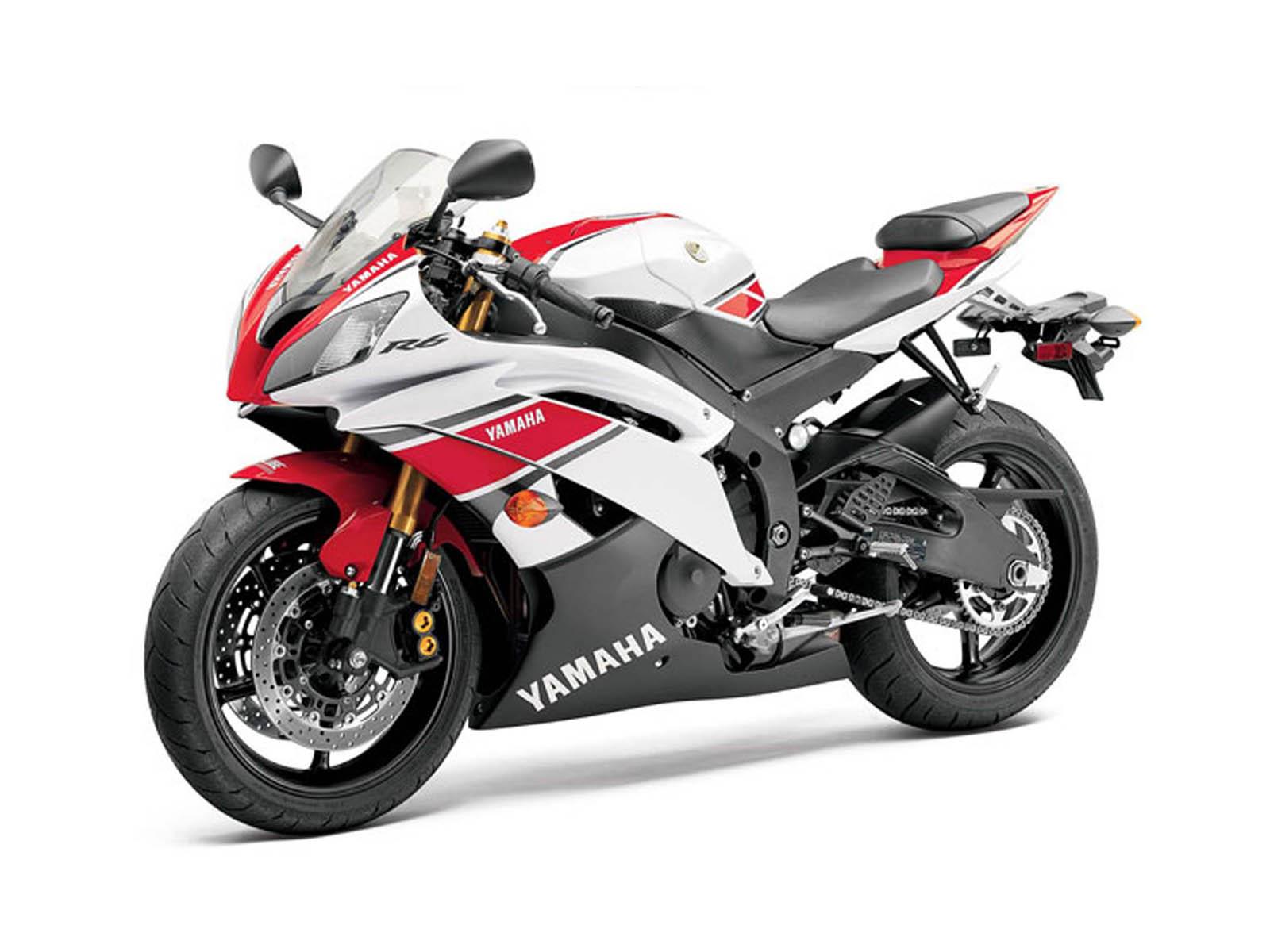 Yamaha Yzf R Red