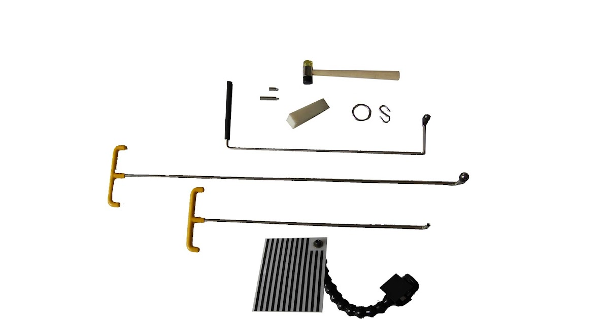 Smart Repair: HBC SYSTEM Magnetic PDR Roll Tip kit