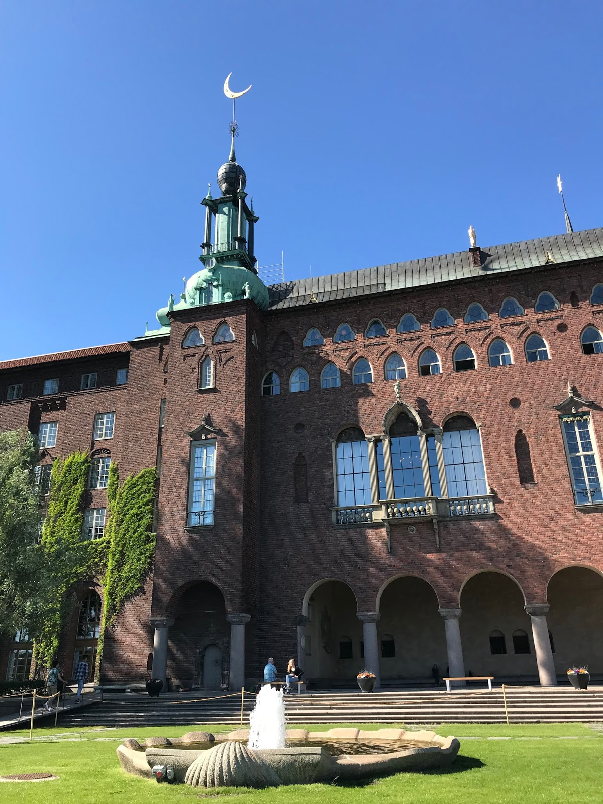 City Hall of Stockholm Sweden