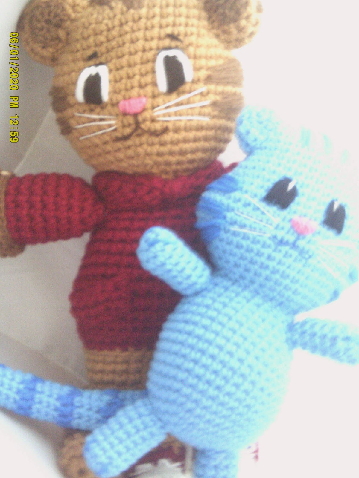 ... to finally make a Daniel tiger. (While I m still on this craft journey  you are still welcome to follow along to watch me rise or fall a99d0807d96