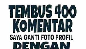 Lagi Viral Status Tembus 400 Komentar Ganti Foto Profil Mantan, Ada Apa Gerangan.?