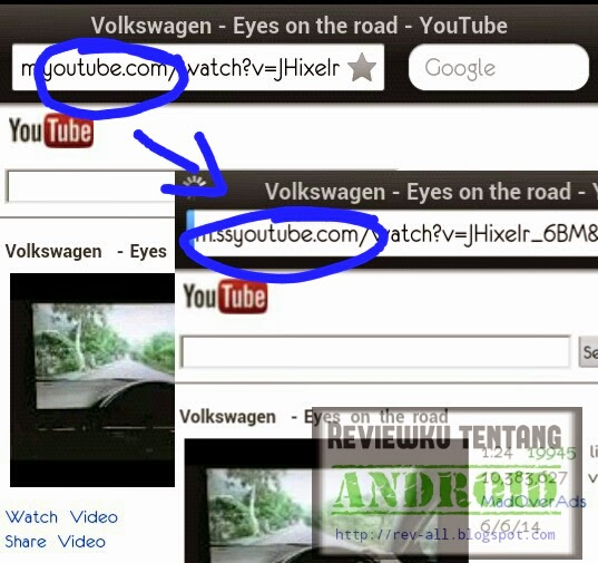 cara download video di youtube di android tanpa aplikasi